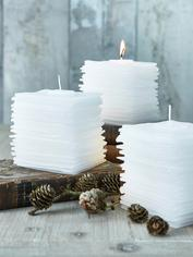 Graceful Layered Candle