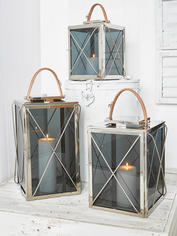 Criss Cross Lanterns