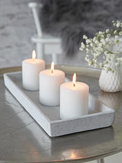 Rectangular Concrete Grey Tray