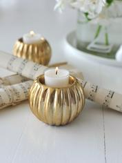 Soft Gold Tealight Holder