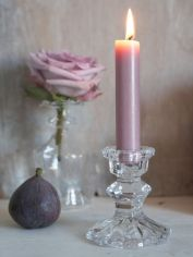 Vintage Glass Candle Holder
