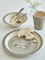 Bamboo Dinnerware Set - Rabbit