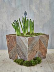 Reclaimed Wood Planter