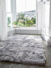 Luxurious XL Sheepskin Rug - Lt Grey