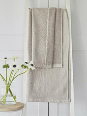Beige Waffle Terry Towels