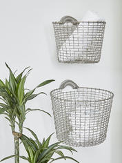 Hanging Heirloom Handwoven Baskets