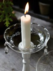 Glass Candle Bobeche