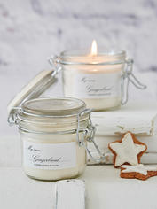 Scented Candle Jar - Gingerbread