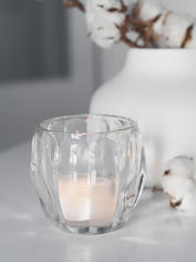 Chic Glass Tealight Holder
