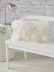 Luxurious Tibetan Sheepskin Cushion