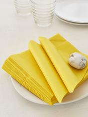 Summer Yellow Paper Napkins
