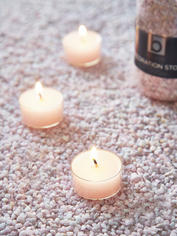 Petal Pink Candle Gravel