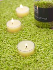 Lime Green Candle Gravel